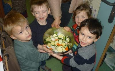 Les fruits et les légumes, c'est bon pour la santé!