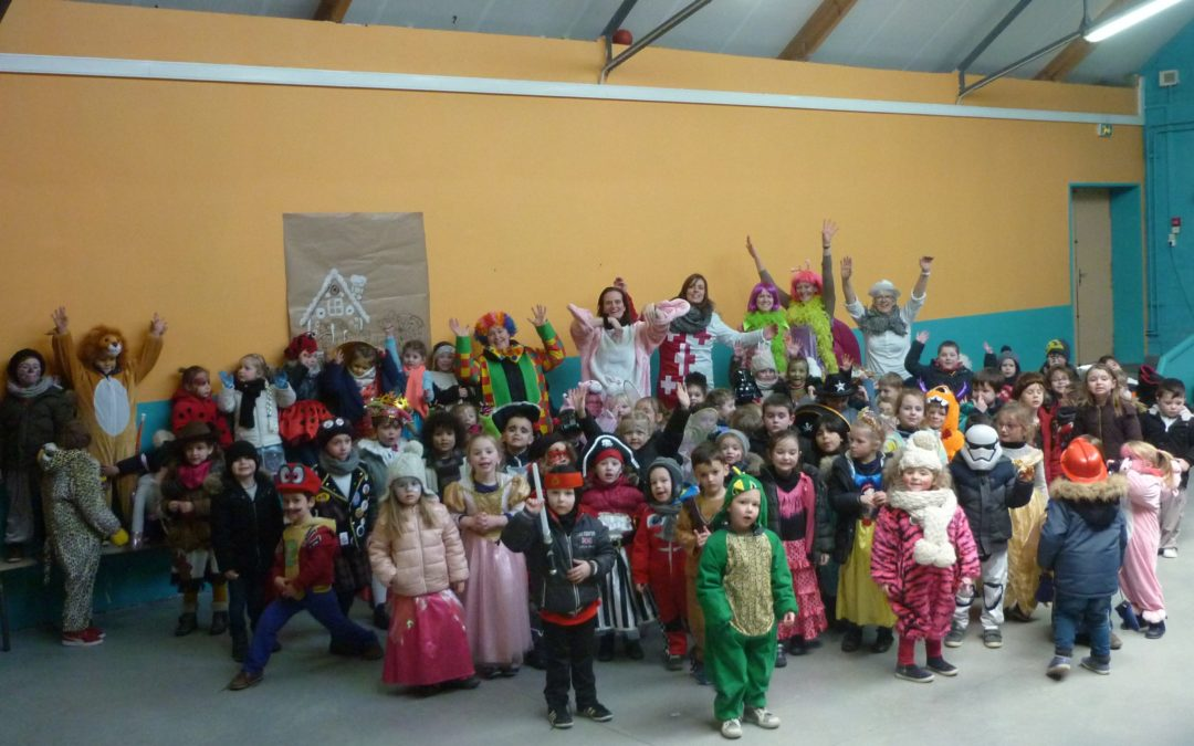 Carnaval du coté des plus jeunes!