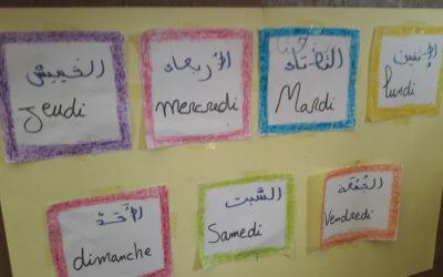 LES CORRESPONDANCES DES 5 CLASSES MATERNELLES AVEC LE MAROC