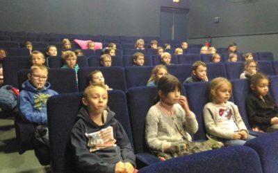 Séance cinéma avec les CE1