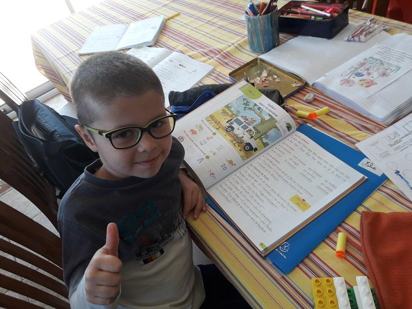 L'apprentissage de la lecture à la maison
