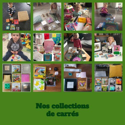 Nos collections de carrés (1)