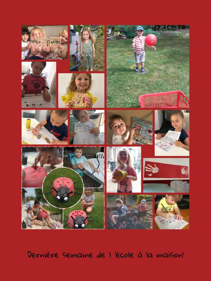 photo collage dernière semaine