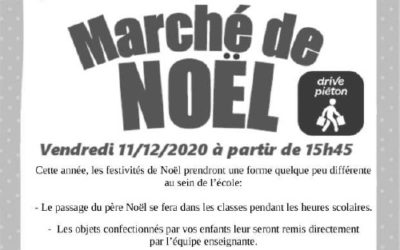 MARCHE DE NOEL…