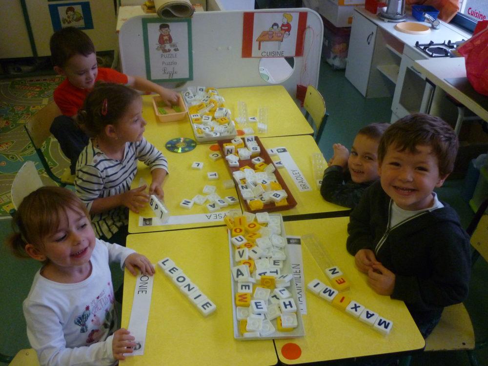 classe de Maternelle ecole Privée flandre