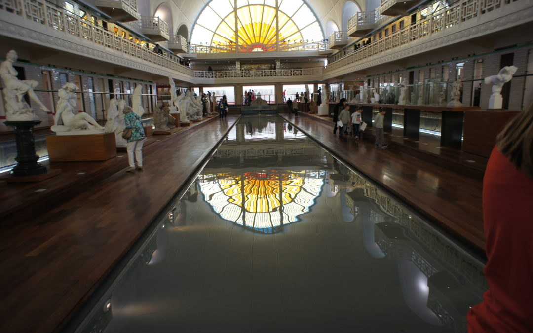 Sortie au musée de la piscine de Roubaix: petite section de Mme Marie-Andrée