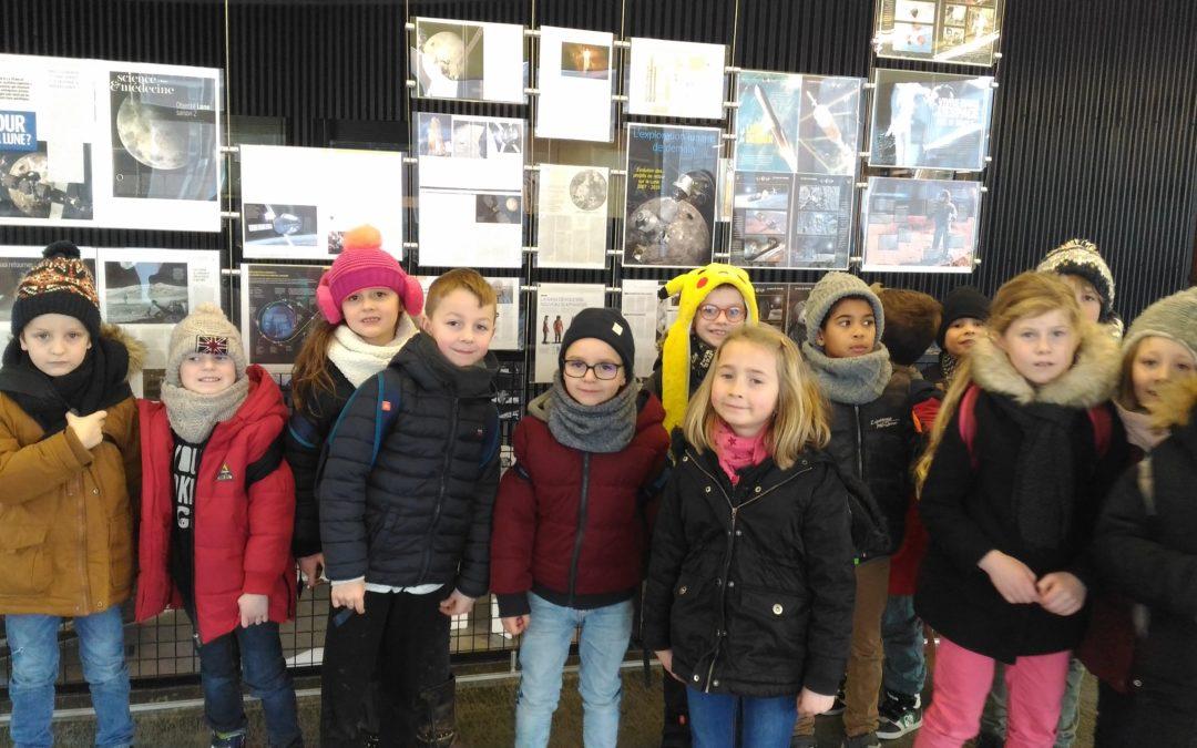 Voyage au planétarium de Villeneuve d'Ascq  avec  les CE1