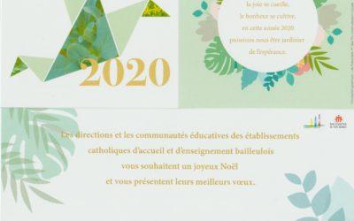 MEILLEURS VOEUX 2020!!